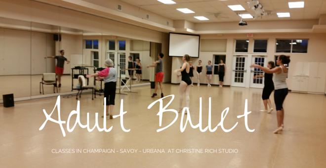 Beginning Adult Ballet Classes Christine Rich Studio