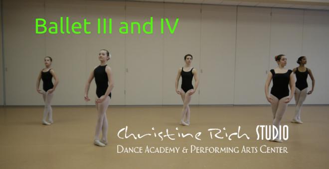 Ballet III and IV
