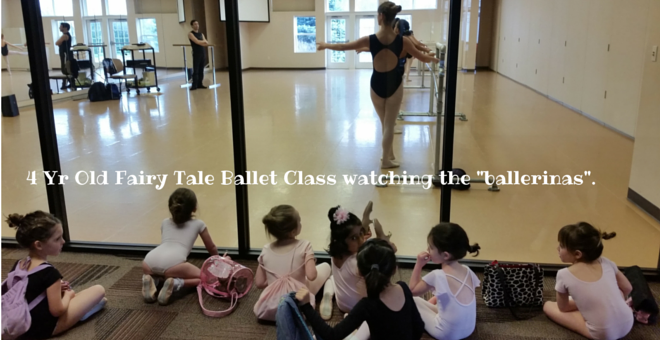 4 Yr Old Fairy Tale Ballet Class at Christine Rich Studio