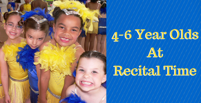 4-6 Year Olds At Recital Time At Christine Rich Studio Champaign Savoy