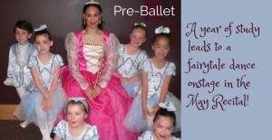 Pre-Ballet Recital Preparations