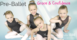 Pre-Ballet Students Age 4-6 at Christine Rich Studio