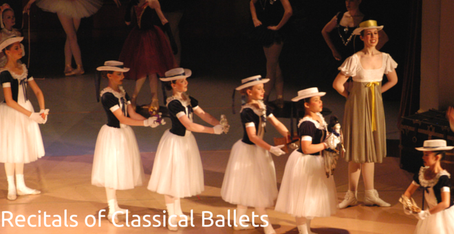 Recitals of Classical Ballets at Christine Rich Studio Savoy Illinois