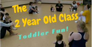 The 2 Year Old Dance Movement Class At Christine Rich Studio Champaign