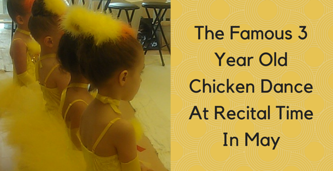 The Famous 3 Year Old Chicken Dance At Recital At Christine Rich Studio Champaign Savoy