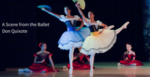 A Scene from the Ballet Don-Quixote